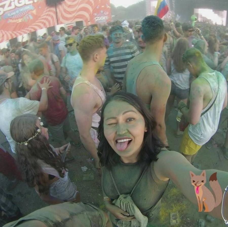 Sziget 2016 — Color Party и группировка Ленинград(видео)
