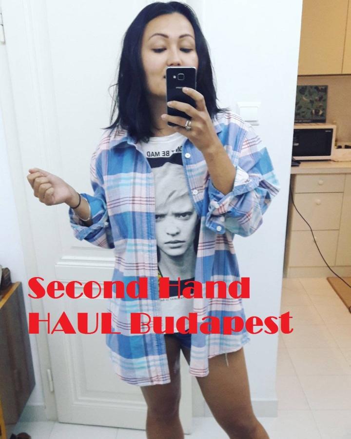 Second-hand haul часть 2: обзор стильных дешевых вещей по 1 евро (куплено вБудапеште)
