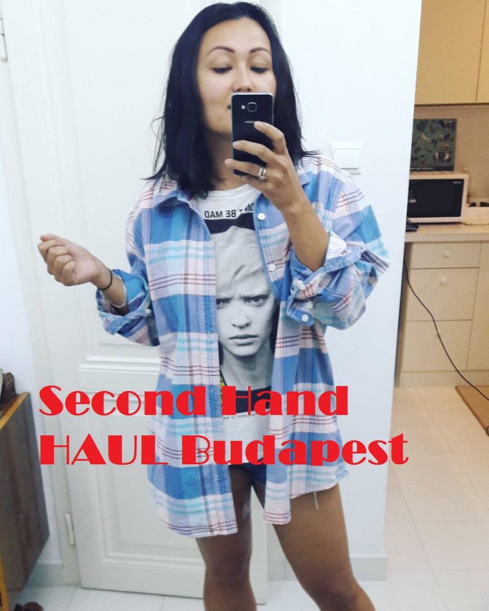 Second-hand haul часть 2: обзор стильных дешевых вещей по 1 евро (куплено в Будапеште)
